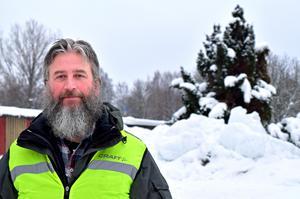 Bengt Bäcke, Synskadades Riksförbunds ombudsman i Borlänge.