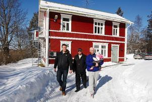 Den gamla villan har tidigare använts till boende för funktionshindrade. Foto: Jan Andersson