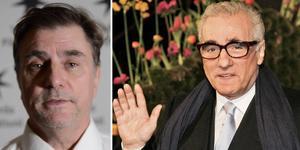 Västerås filmfestivals arrangör Carlos Morén (vänster) är ett stort fan av Martin Scorsese, som regisserat hans favoritfilm
