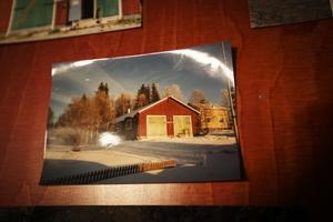 Så här såg den ut 1989 – den gamla brandstationen i Undersåker. Sedan byggde Magnus om lokalen som förvandlades till Åre Ljusfabrik.