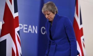 Storbritanniens premiärminister Theresa May. Foto: Alastair Grant/AP Photo