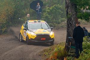 Pontus Lönnström sladdar vidare mot junior-VM. Foto: JC Rallypics