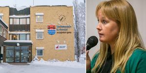Arkivbild.  Susanne Hansson (s) ordförande i kommunstyrelsen.