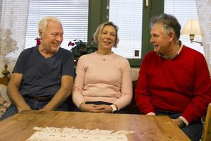 Lennart Persson, Ingrid Hedin Amrén och Ola Kuremyr.