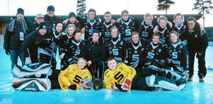 SAIK:s P12-lag från 2009 där bland annat Axel Jonsson och Rasmus Linder spelade. Bild: Privat.