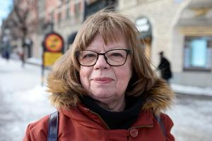 Ingalill Persson, 70+, pensionär, Sundsvall: – Jag är med i Postkodlotteriet och skänker pengar varje månad, det har jag gjort i flera år.
