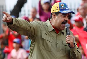 USA:s sanktioner mot Nicolas Maduros Venezuela och har slagit hårt mot Nynas, som till något mer än hälften ägs av ett statligt venezuelanskt bolag. Bild: Ariana Cubillos/AP.