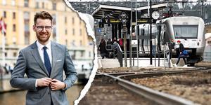 Carl Göransson, Stockholms Handelskammare är kritisk till att bygga höghastighetsbanor. Bild: Stockholms Handelskammare/Daniel Gustafsson