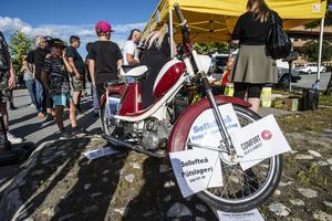 Lotterna i mopedutlottning såldes slut i ett nafs.