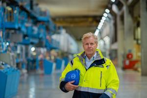 Johan Nellbeck växte upp i Hudiksvall och återkommer nu som affärsområdeschef för Iggesund Paperboard. Foto: Philippe Rendu