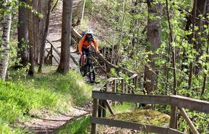 Cykling är en av de träningsformer som  fungerar i dag.