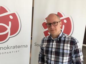Kenneth Nilsson (S) presenterade Socialdemokraternas nya vallöften: Tolv punkter som ska skapa trygghet i Örebro.