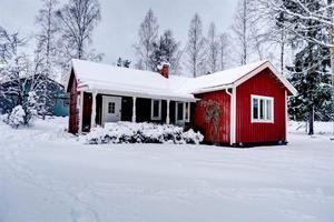 Mellan Falun och Borlänge ligger det här lilla huset på Smedsbo 365. Foto: slagga.se