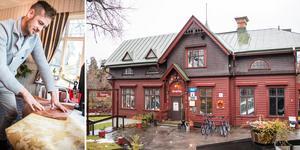 Patrik Eriksson väljer att stänga Älvkarleby turist- och konferenshotell.