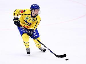 Johanna Fällman var sista spelare att strykas inför både OS i Vancouver 2010 och i Sochi för fyra år sedan. Nu talar allt för att hon gör sitt första OS. Foto: Josefine Loftenius / BILDBYRÅN.