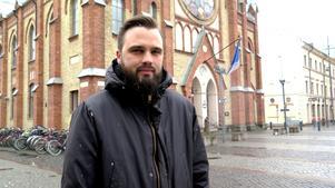 Henrik Moreborg, musikproducent från Valbo och Bomhus som också jobbar med Clara Mae.
