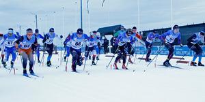 Ungefär 170 deltagare kom till start när Remslespelen avgjordes.