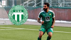Stefan Batan när han spelade i Hammarby. Nu är det ett annat grönvitt lag han har skrivit på för.