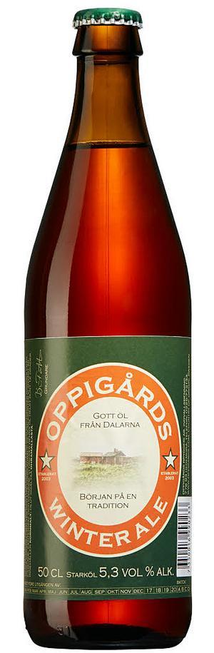 Oppigårds Winter Ale.