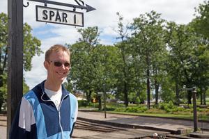 Markus Ågren, pjäsens författare och regissör, är taggad på premiären 6 juli.