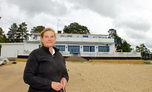 Madeleine Rostedt håller just nu på att renovera Restaurang Hargebaden i Harge som hon har ägt sedan 2006, men haft utarrenderad.