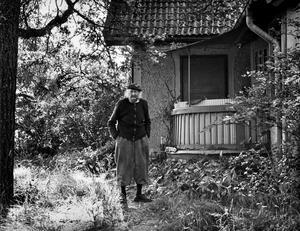 Harald Lönnqvist bodde i Solelid, även kallat Pepparkakshuset i Adolfsberg.