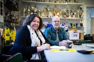 Anna Joners och Anders Callmyr har drivit Brännbollsyran sedan 1995.