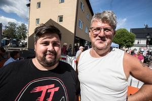 Robert och Lars-Erik från Örebro.