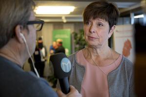 Regionen nya styret Ingeborg Wiksten (L)