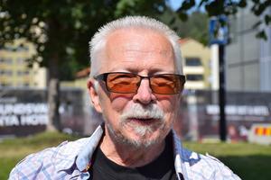 Lasse Berglund, 60 +, pensionär, Sundsbruk.