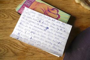 Den ena dotterns egna ord om trakasserierna som hon skrivit i ett brev.