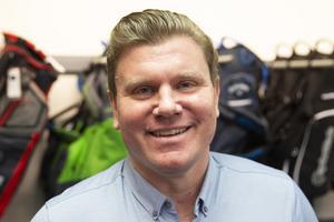 Joakim Flyckt, vd Budget Golf.