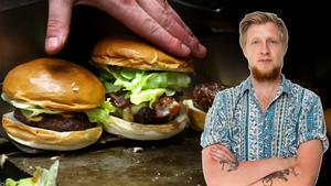 VLT:s nöjesredaktör William Holm har tröttnat på hamburgertrenden i Västerås och efterlyser större variation på utbudet. Bild: TT