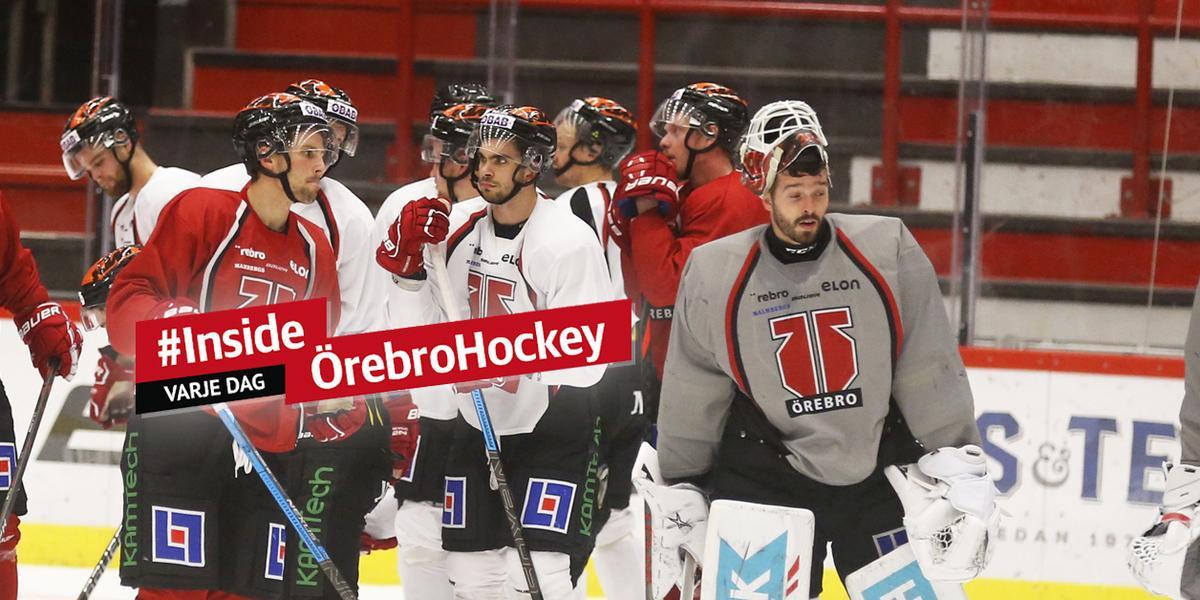 Skadade backen tillbaka – så var Örebros onsdagsträning inför Smålandsturnén