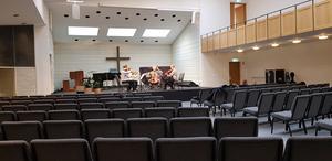 En av kammarmusikföreningens tidigare konserter (oktober 2018) då Treitlerkvartetten spelade i Pingstkyrkan.