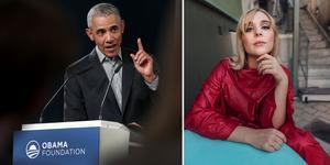 USA:s tidigare president Barack Obama är en av talarna vid konferensen Brilliant Minds i Stockholm. Caroline
