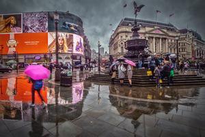Urban Rundbloms bild från Piccadilly Cirkus hamnade på tredje plats i digitalbildklassen.