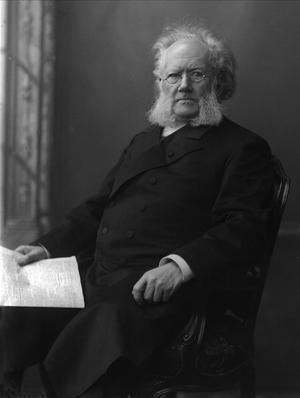 Den norske dramatikern Henrik Ibsens