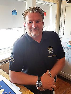 Michael Bolin, en göteborgare som blir ny bandybas i Edsbyn.