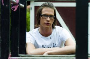 Sveriges representant? Alexander Åström från Falun kan bli årets Mr Gay Sweden och få tävla i europa-finalen nästa år.