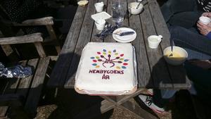 Tårta Hembygdens år 2016.