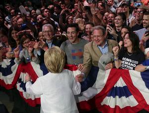 Nu tyder allt på att Hillary Clinton blir demokraternas kandidat på partikonventet som hålls i Philadelphia i slutet av juli.