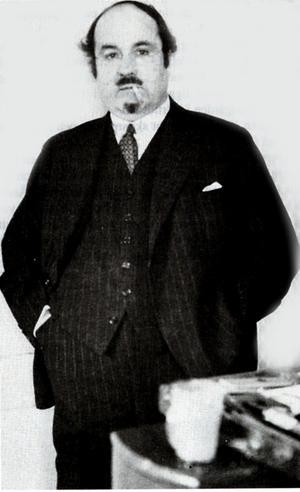 Lubbe Nordström. Fotograf Okänd.