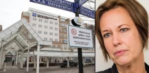 """""""Strukturerat, långsiktigt och väl utfört arbete"""", är regionstyrelsens ordförande Karin Sundins förklaring till att USÖ rankas som det bästa universitetssjukhuset i landet."""