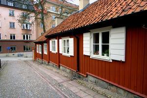 Svenska röda stugor har inte alltid varit röda.