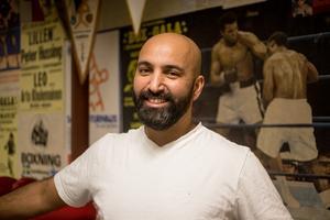 Emils tränare Dawan Kakaways.
