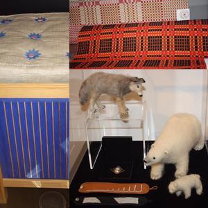 Besök på utställningen Hallå hemslöjd på Norrbottens museum i Luleå.