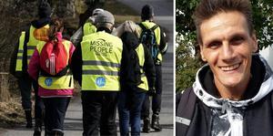 Morgan, 46, är försvunnen i Jönköping sedan december 2018. På lördag inleder Missing People en ny sökinsats. FOTO: Johan Nilsson/TT och privat.