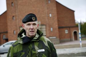 Micael Ågren Berner, som är chef för Fältjägargruppen, berättar att det finns ett stort intresse bland försvarspersonal att arbeta i länet.