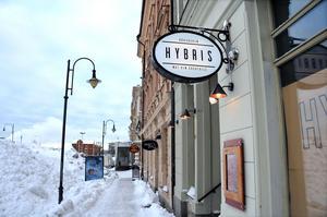 Restaurangen ska heta Hybris.
